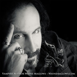 Vampyre Author Wayne Mallows