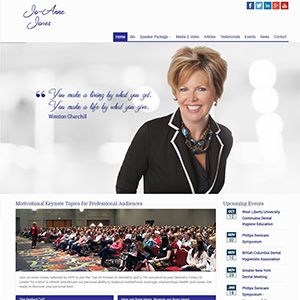 Jo-Anne Jones - Website Design